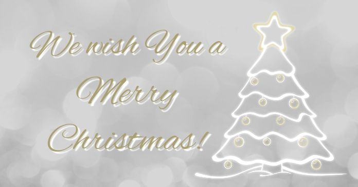 We Wish You A Merry Christmas Facebook Ad Company Christmas Cards Poster Template Christmas Designs