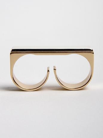 Two finger ring, Martin Margiela, oki-ni.com, about $300