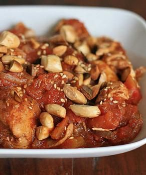 Moroccan Chicken with Tomatoes and Honey | Recipes to try | Pinterest