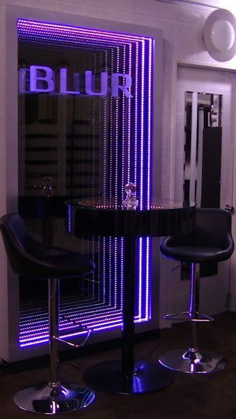 Infinity Mirror Wall Displays and Infinity Mirror Tables  http://www.justleds.co.za