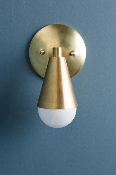 sconce - Jones County Road - solid brass - $285 each