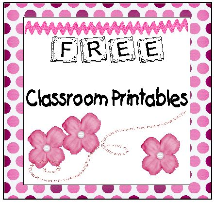 tons of classroom printable s...all free.
