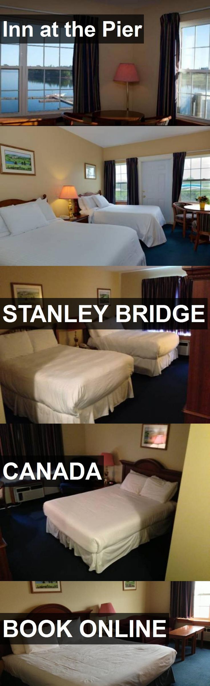 Hotel Inn at the Pier in Stanley Bridge, Canada. For more information, photos, reviews and best prices please follow the link. #Canada #StanleyBridge #travel #vacation #hotel