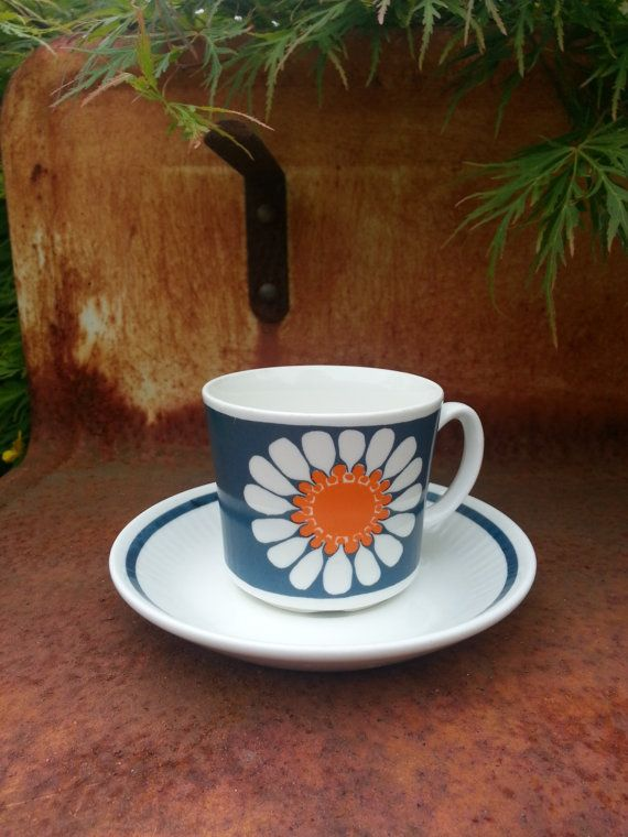 Vintage Figgjo Flint Turi Daisy design Norway cup by fcollectables, €30.00