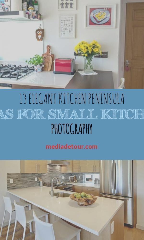 13 Elegant Kitchen Peninsula Ideas For Small Kitchens Photography