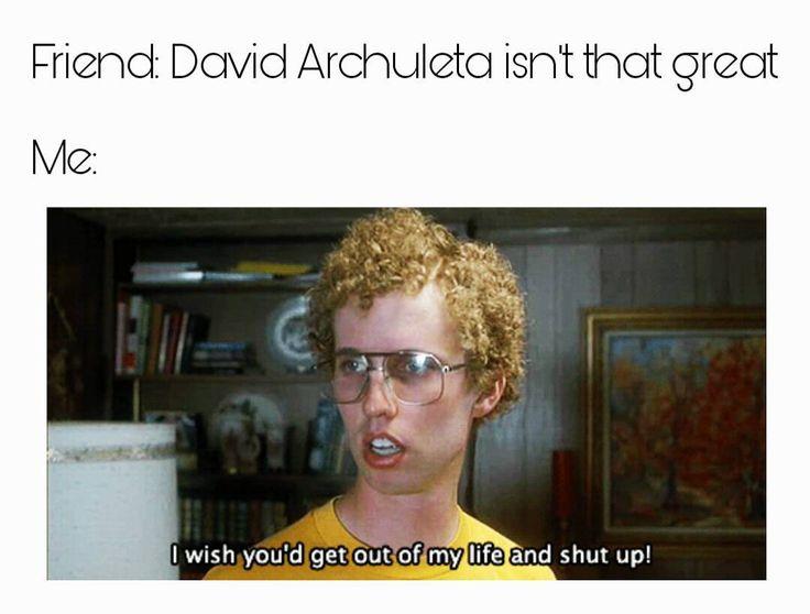 "419 Likes, 15 Comments - Mormemes (@i_am_a_mormeme) on Instagram: ""David Archuleta is the best! #mormonmeme #mormon #meme #mormonprobs"""