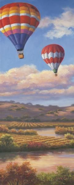 Sung Kim - Balloon Panel I - Fine Art Print - Global Gallery