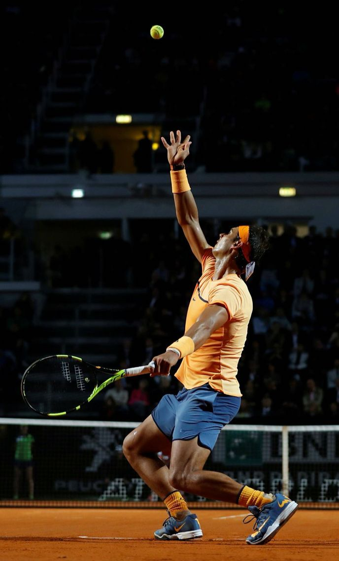 Rafael Nadal Rome 2016 In 2020 Nadal Tennis Tennis Lessons Tennis Players