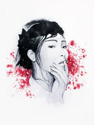 #illustration #fashionillustration #fashionportrait #portraitdrawing #illustrator #fashionillustrator #art #fashionart #fashionblogger #asian