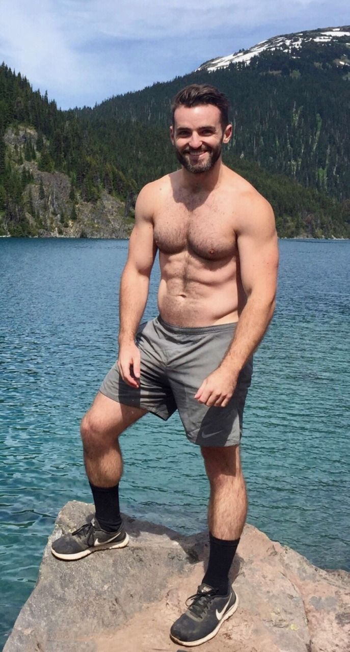 Man and Structure | Dad Bods | Swimwear, Hairy chest, Swim ...