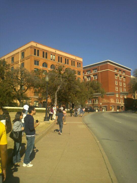 Dealey Plaza in Dallas, TX