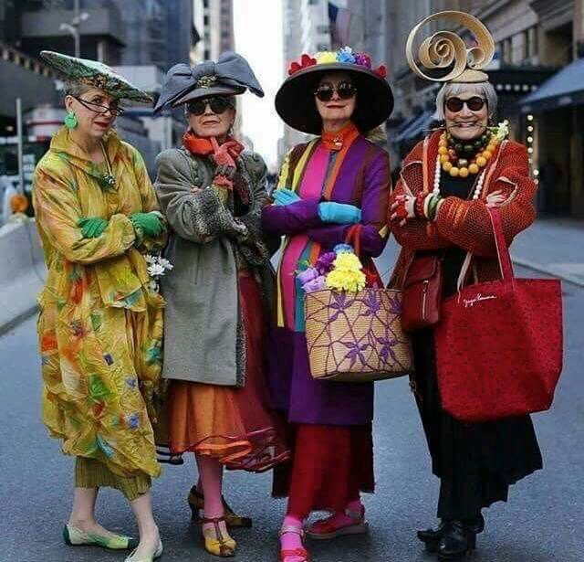 Elderly Fashionista: 13 Best Fabulous Fashionistas Images On Pinterest