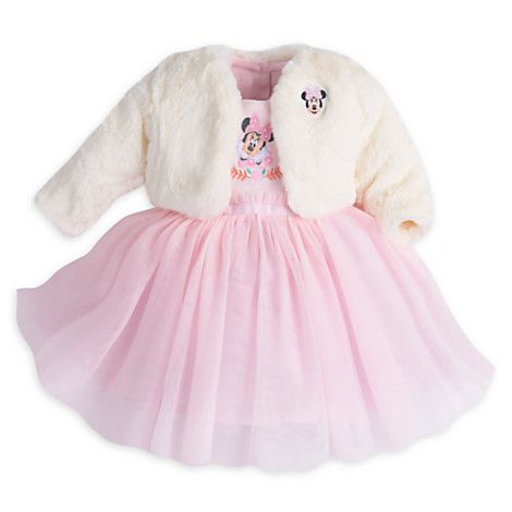 Minnie Mouse Fancy Dress Set with Jacket for Baby