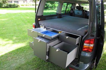 mac box camper camping box in volkswagen t5 cool. Black Bedroom Furniture Sets. Home Design Ideas