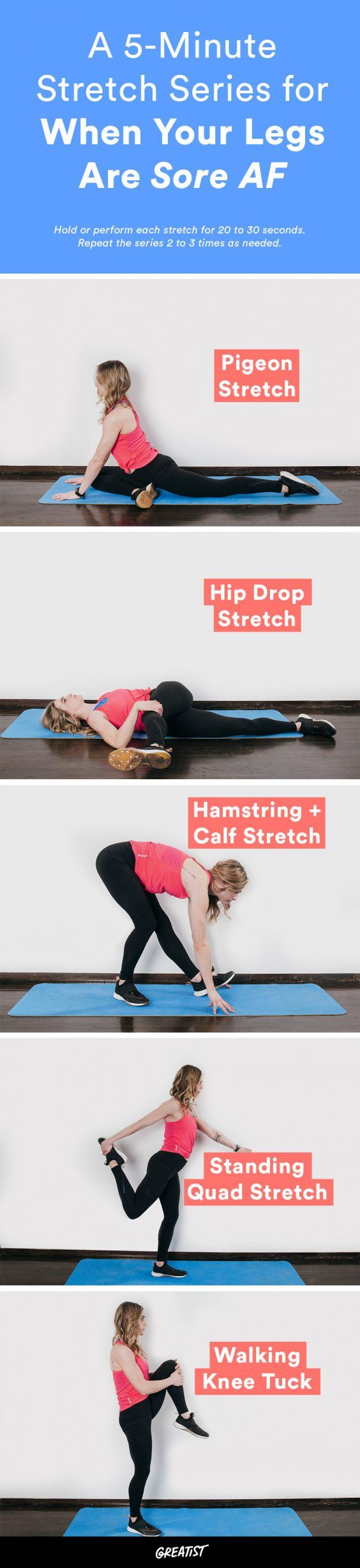 Because hobbling around isn't a good look.  #greatist https://greatist.com/fitness/stretching-exercises-lower-body-stretches