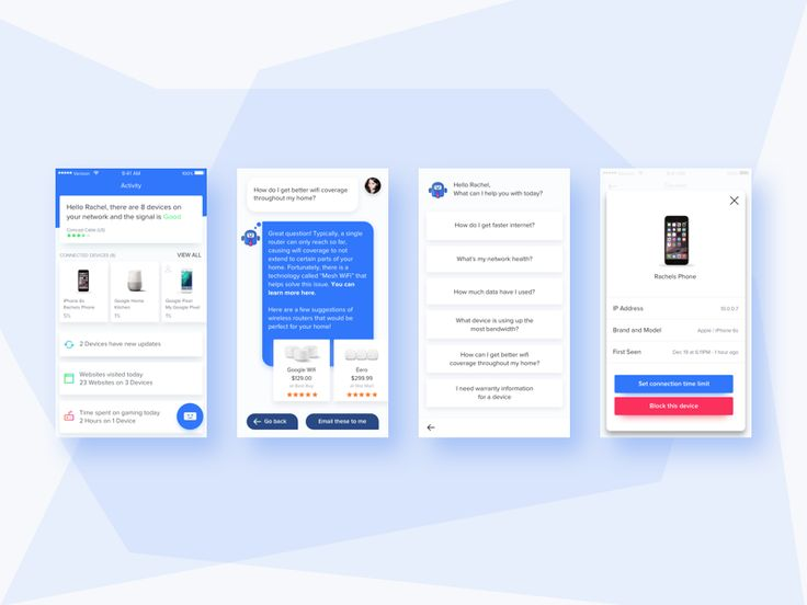 Obvy Home IT Assistant by John Menard - Dribbble