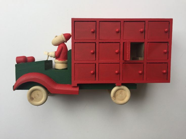 How to Make a Personalised Advent Truck #advent #christmas #truck #diy #kids #craft #personalised