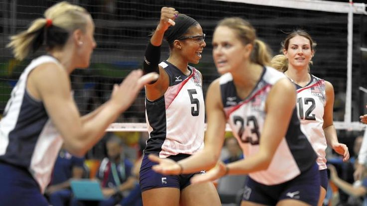Kelly Murphy, Team USA beat Puerto Rico in Olympic volleyball opener 2016 RIO Olympics
