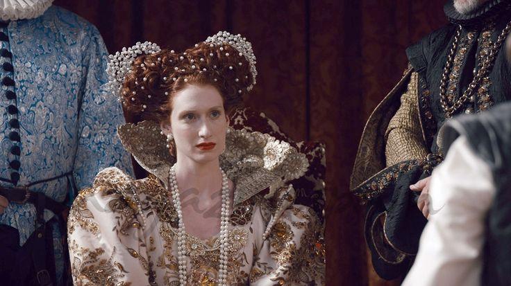 """Reinas"", María Estuardo e Isabel I llegan a La1 - Isabel I de Inglaterra (Rebecca Scott) - Reinas - © RTVE"