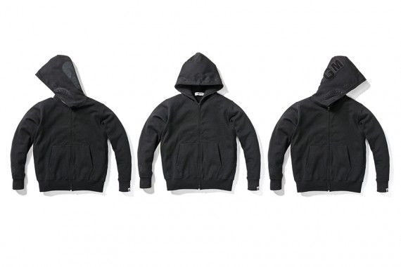 BAPE – Black Friday Full-Zip Shark Hoodie