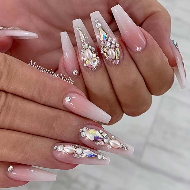 43 Pretty Wedding Nail Ideas for Brides-to-Be in 2020 ...