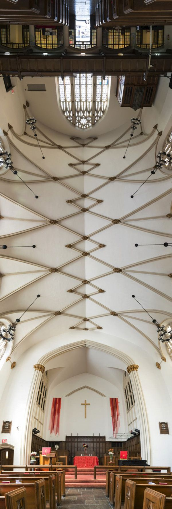 Heavenly Panoramas: The Church Ceilings of New York