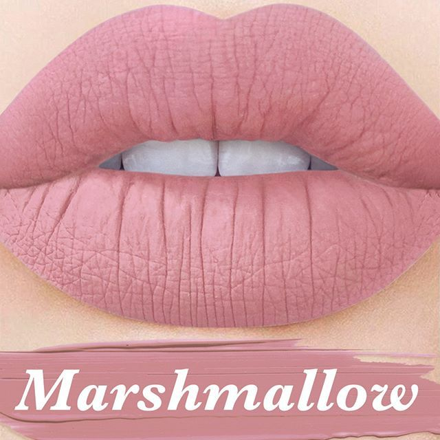 Coming soon as part of #2MOODS Duo: 'Marshmallow,' the cotton-candy nude Velvetine!  Subscribe on limecrime.com.  #limecrime #velvetines