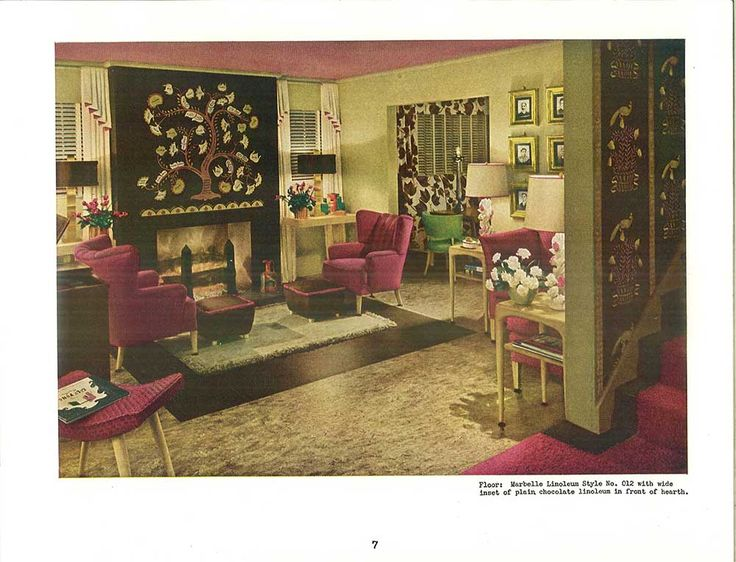 94 Best 1940s Living Room Images On Pinterest