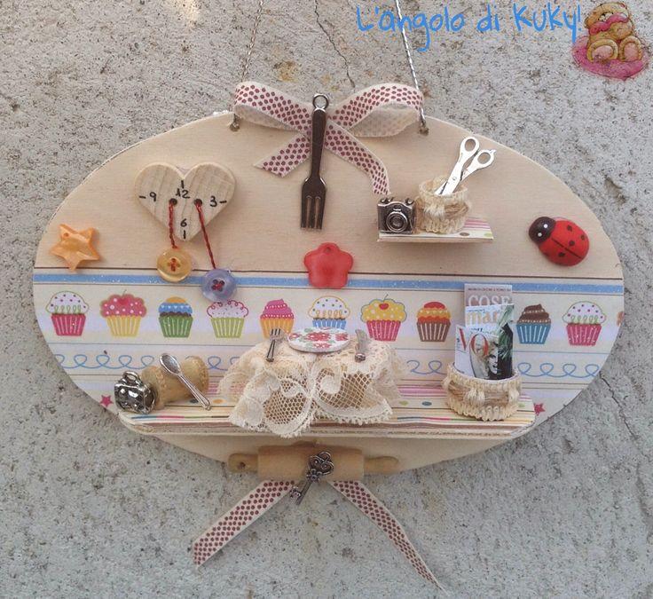 L'angolo di kuky!: Piccole miniature, la cucina.....