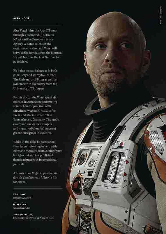 #Alex Vogel #The Martian