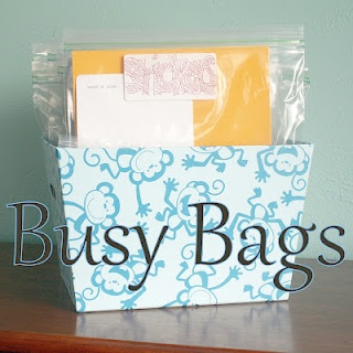 Taking Time To Create: Busy Bag Ideas
