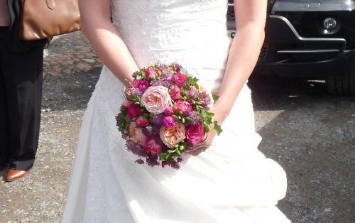 Svatební anglické růže