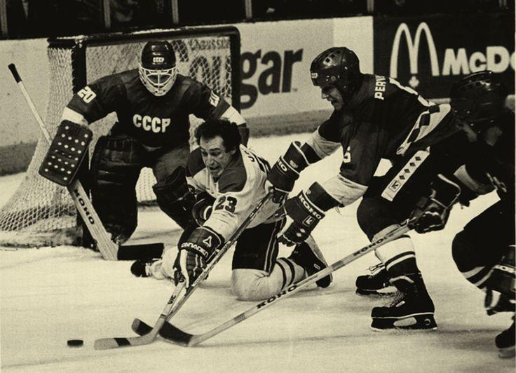 """Сборная СССР - """"Монреаль Канадиенс"""" 5:0 01.01.1983 #hockey #хоккей"""