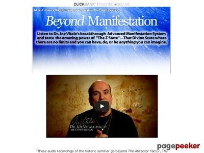 Product Name: Beyond Manifestation – Dr. Joe Vitale      (adsbygoogle = window.adsbygoogle || []).push();  Click here to get Beyond Manifestation – Dr. Joe Vitale at discounted price while it's still available…    All orders are protected by SSL encryption – the...
