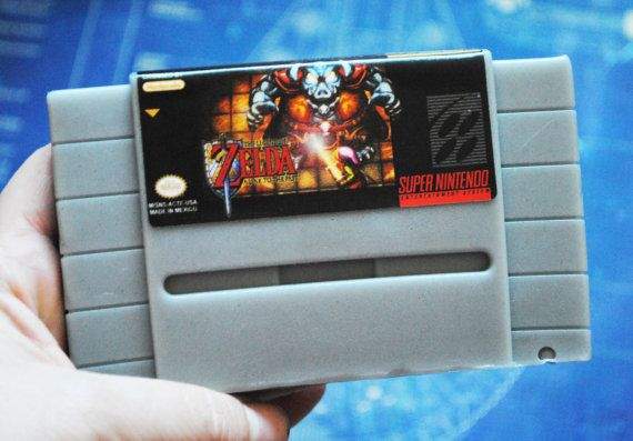 Super Nintendo Cart Soap: Zelda II Retro and geeky by NerdySoap