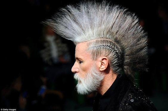 Cool 24 Hot Mohawk Hairstyles for Men 2016 Check more at http://menshairstylesweb.com/24-hot-mohawk-hairstyles-men-2016/
