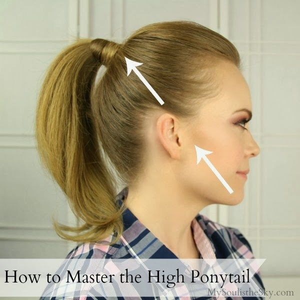 The high ponytail