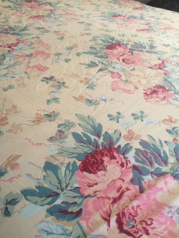 Ralph Lauren Elsa Grasslands King Size Fitted Sheet Rare #RalphLauren  #Cottage