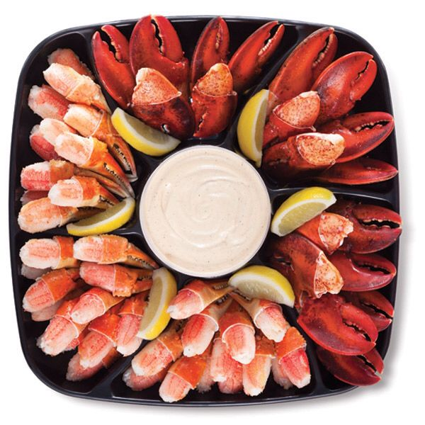 Publix crab claw & lobster claw platter my favorite