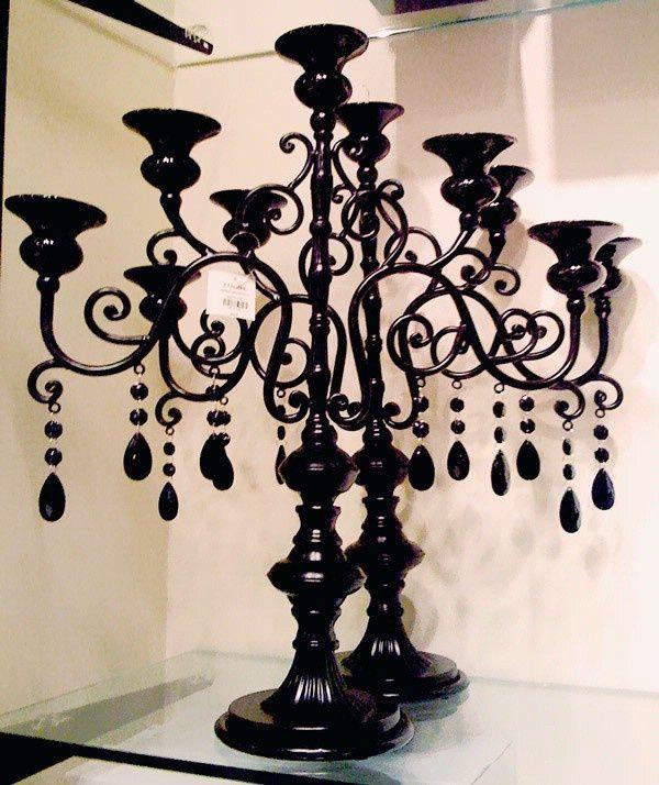 Black Candelabra From Michaels Wedding Ideas Pinterest