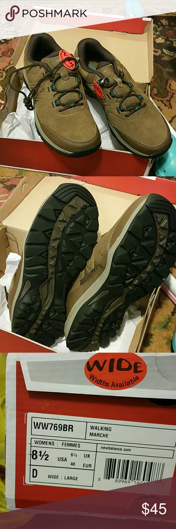 New Balance walking shoes New in box, never worn!! New Balance Shoes Athletic Shoes