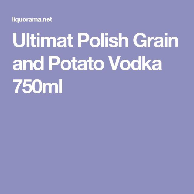 Ultimat Polish Grain and Potato Vodka 750ml
