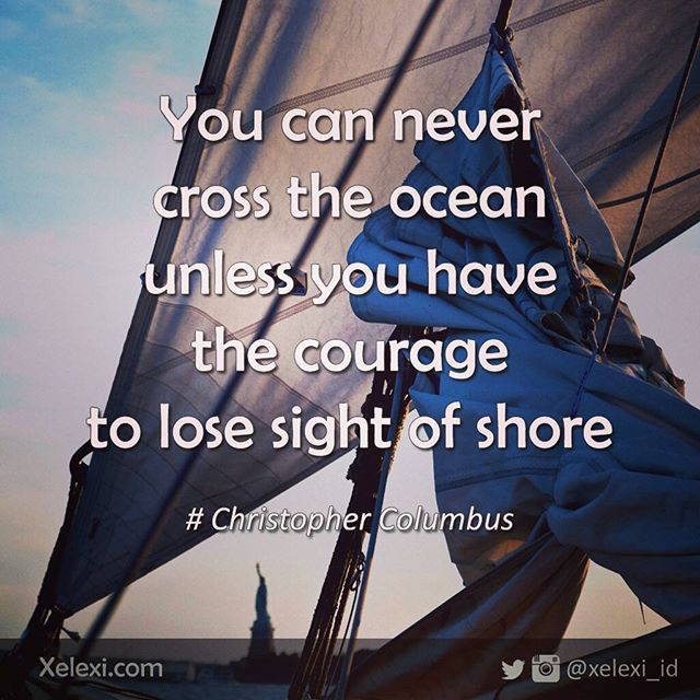 Be brave.... #travel #traveling #travelnotes #america #newyork #sail #ocean…