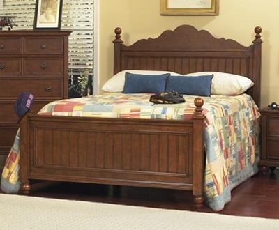 Simplemente elegante es la cama individual o matrimonial - Cabeceras de cama de madera ...