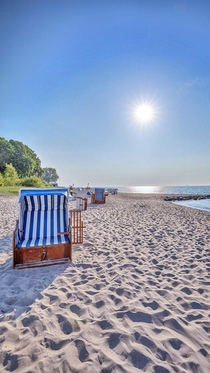 Urlaub in Sierksdorf. Strandurlaub an der Ostsee. Beach