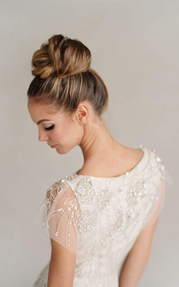 Remarkable 1000 Ideas About High Bun Hairstyles On Pinterest High Bun Bun Hairstyle Inspiration Daily Dogsangcom