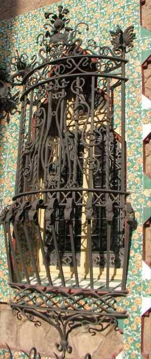 Casa Vicens. 1883-5. Barcelona, Spain. Antoni Gaudi.