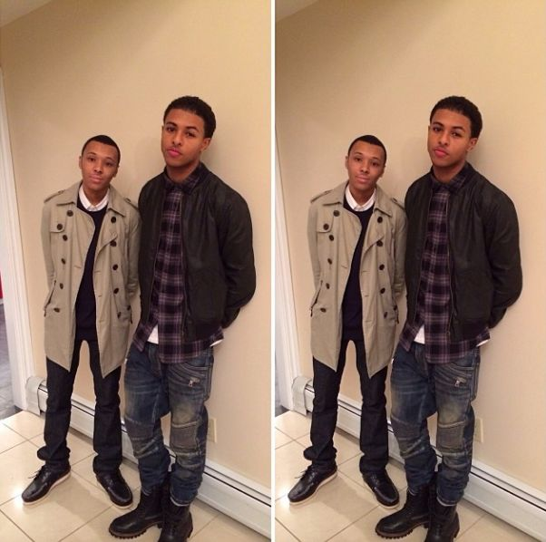 "Russy and Diggy Simmons | ""Celebrities"" The Good, The Bad ..."