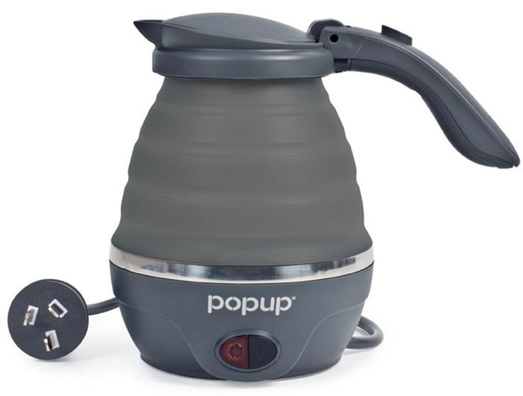 Get Free Delivery on Companion Pop Up Billy 240V Kettle - Huge Range of Camp Cooking Gear at Australia's Best Online Camping Store