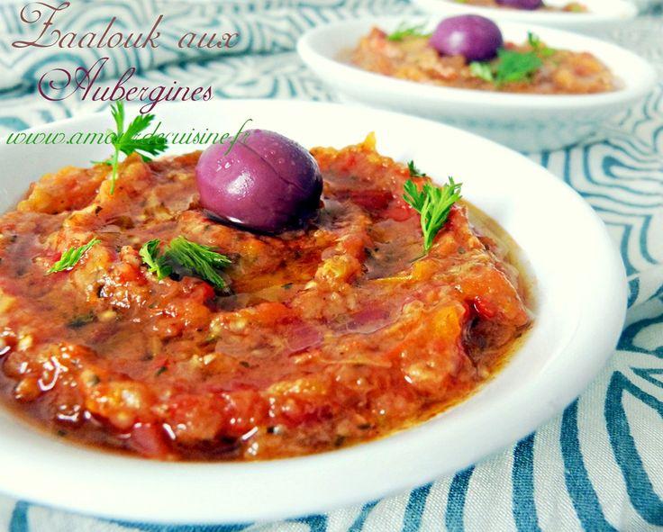 bonjour tout le monde, j'aime beaucoup les aubergines, et cette fois j'ai préparé une délicieuse purée aux aubergines, plus connue sous le nom Zaalouk…… c'est une délicieuse recette marocaine que j'ai préparé d'une manière un peu différente, c'est une méthode express, 20 minutes et c'est prêt:  les ingrédients : pour 4 personnes  1 ...